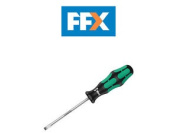 Wera Wer110010 Kraftform 334 Screwdriver Flared Slotted Tip 6.5mm