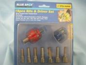 19pcs Bits & Driver Set, Drop Forged Steel, New, 14020
