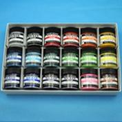 Knicker paints, poster colour 18 colour set 40 ml (plastic container) is Norwegian