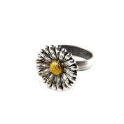 Flower Adjustable Ring, Mother's Day Gift, Novelty Rings, Accessories, Jewellery, Gift Box Included