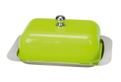 Contento 672173 Butter Dish, Green