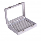 Efaconcept New Women Jewellery Box Jewellery Box Jewellery Organiser Display Storage Box for Earrings Rings Necklace