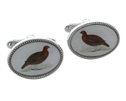 Grouse Shirt Cufflinks Presented in GS Cufflink Box