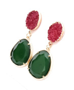 Earrings Women Gold Plated Colourful Drop and Dangle Earrings Fashion Jewellery Special Occasions, Many Colours
