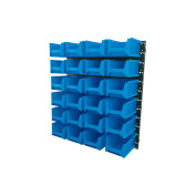 Draper 24 Bin Wall Storage Unit (large Bins) - Pn:sbb24b