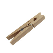 50pcs Mini Wooden Pegs 25mm Natural Wood Clothes Craft Clips Wedding Party Decorations