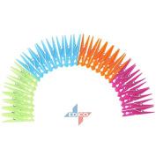 EDCO STRONG PLASTIC CLOTH PEGS WASHING LINE LAUNDRY DURABLE PEG TRADITIONAL 30PC