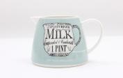 Martin Wiscombe Specialist Milk Cream 350ml Jug Creamer Porcelain Vintage Design