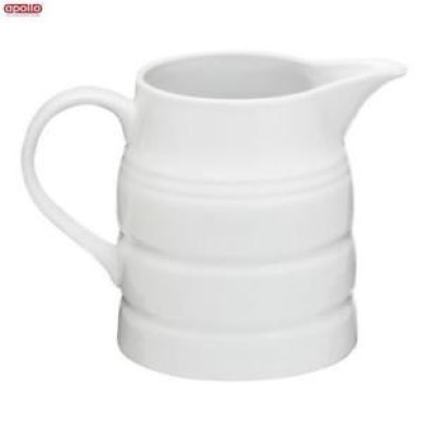 Apollo Churn Jug 2 Pint White Tea Coffee Water Drinks Serveware Kitchen Home New