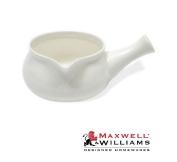 Maxwell And Williams White Basics Ceramic Sauce Pourer Pot Jug