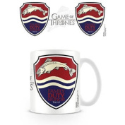 House Tully Game Of Thrones Mug Ceramic Cup Tea Coffee Tv Riverrun Westeros