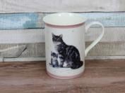 Grey Tabby Cat Mug Fine China Mug