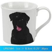 Traditional Black Labrador Dog Breed Fine China Mug With Presentation Box