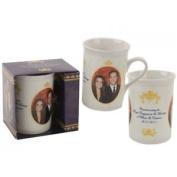 270ml Royal Couple Photo Slim Mug - Cups Mugs Coffee Tea Novelty Present