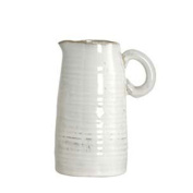 Beautiful Ceramic Vase The Jug Ivory Danish Design By House Doctor Small
