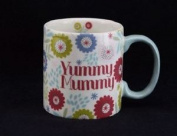 Contemporary Yummy Muummy Ceramic Mug From Gisela Graham. 18.5cm Tall