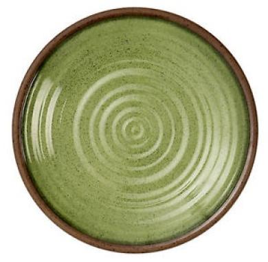 Epicurean Single Sage Green 26.5cm Melamine Dinner Plate Picnic Caravan Camping