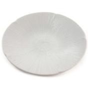 Plate Beautiful White Shell Relief Pattern - Plates Dinner Dinnerware China Uk
