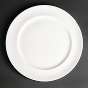 12x Royal Porcelain White Maxadura Advantage Service Plates 280mm Fine China
