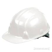 White Lightweight Safety Hard Hat - Silverline 868532