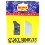2x Bright Ideas Professional Replacement Tile Grout Removal Blade Tool