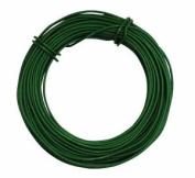Tildenet 20m 3mm Plastic Coated Garden Wire Coil