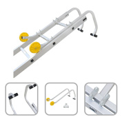 Aluminium Roof Ladder Hook - Roof Adapter With Hook And Wheels Hook Kit Ladder
