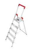Hailo 8150-507 L50 Step Ladders 5 Steps Certified To 150kg