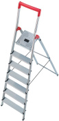 Hailo 8150-707 L50 Step Ladders 7 Steps Certified To 150kg
