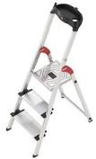Hailo Aluminium Safety Stepladder Profistep Xxl, Grey, 5_8813-001