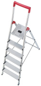 Hailo 8150-607 L50 Step Ladders 6 Steps Certified To 150kg