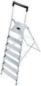 Hailo 8140-701 L40 Step Ladders 7 Steps Certified To 150kg
