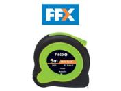 Fisco Tk5me 5m/16ft X 19mm Tuflok Hi Vis Tape Measure