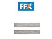 Fisco Fsc706s 706s Stainless Steel Rule 6in/15cm