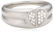 Merii-M0641R/90/03/60-Women's Ring Sterling Silver 925/1000 10.8 g with Zirconia