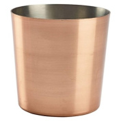 Genware Nev-svc8c Copper Plated Serving Cup, 8.5 Cm X 8.5 Cm
