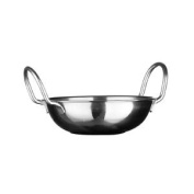 Stainless Steel Indian Balti Dish Home Kitchen Serving Table Bowl Dish 14cm