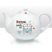 Vw Campervan Teapot, Home Is Where You Park It!