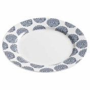 Maxwell And Williams Indigo Flower Salad Plate 19cm