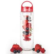 Savisto Tritan 700ml Fruit Infuser Water Bottle [premium Bpa Free Plastic] #2um