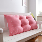 Cotton bed cushions sofa Headboard Cushion Double long pillow Pillow Bedside big backrest 1m