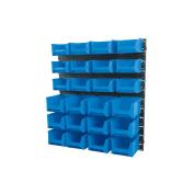 Draper 24 Bin Wall Storage Unit (small/medium Bins) - Pn:sbb24c
