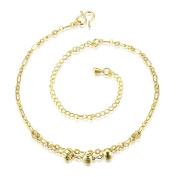 Beads Anklet Gold Plated Beautiful Bracelet Anklets for Women