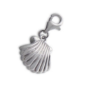 Shell Lobster Charm in 925 Stamped Sterling Silver