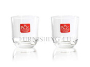 2/4/6 Rcr Engraved Base Stamp Crystalleria Italiana Liqueur Whisky Shot Glasses