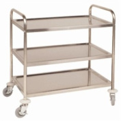 Vogue F993 Clearing Trolley, 3 Tier, Size