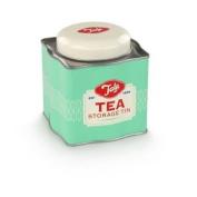 Vintage Style Tee Caddy Mit Geprägtem Tala Deckel - Originale Grün Stil