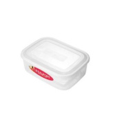 3l Clear Rectangular Container - Food Storage Box Lunch Snacks Picnic Kitchen