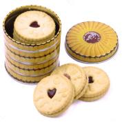 Jammy Dodger Small Biscuit Tin Canister Kitchen Storage Retro Vintage Lunch Box