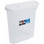 5l White Cereal Dispenser Storage - Wham Food 5ltr Container Box Kitchen
